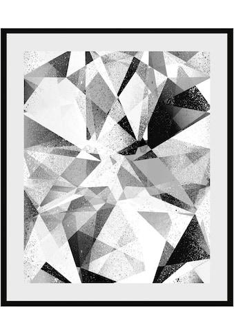 Places of Style Bild »Abstrakte Kunst«, mit Rahmen kaufen