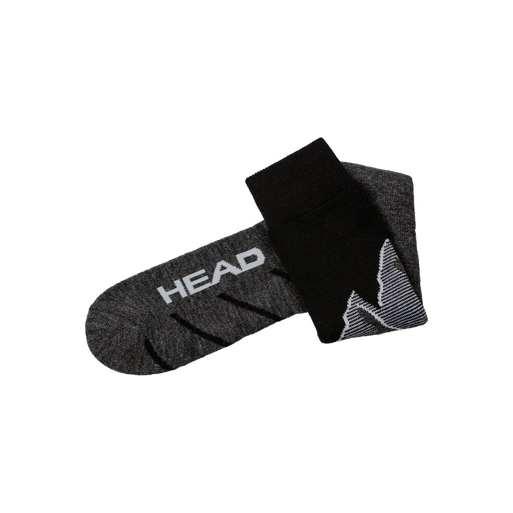 Head Sportsocken, (2 Paar), mit eingestricktem Bergmotiv