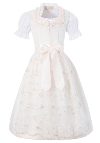 KRÜGER KIDS Dirndl »Francine Kids«, (3 tlg.), mit Bluse und bestickter Tüllschürze kaufen