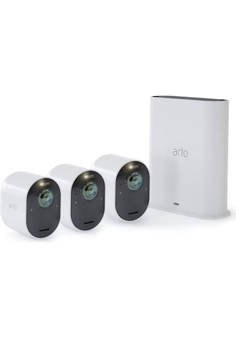 ARLO Überwachungskamera »Überwachungsset Ultra 4K VMS5340-100EUS Set mit 3 Kameras«,... kaufen