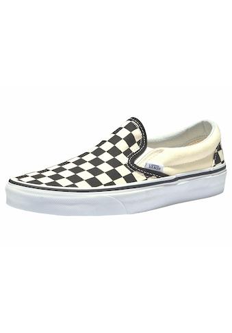 Vans Slip-On Sneaker »Checkerboard Classic Slip-On« kaufen