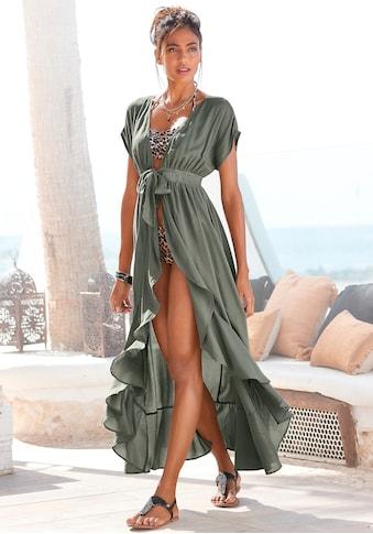 LASCANA Strandkleid, mit Bändern zum Knoten kaufen