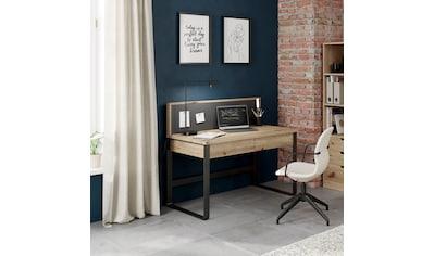 Home affaire Schreibtisch »IMST«, aus Massivholz mit Magnet_Paneel kaufen