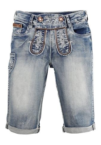 MarJo Trachtenbermudas, im Lederhosen-Style kaufen