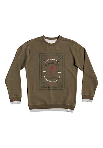 Quiksilver Sweatshirt »Bad Liar« kaufen