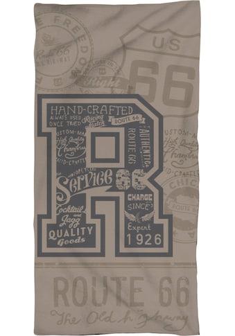 """Route 66 Strandtuch »USA Road«, (1 St.), mit grossem """"R"""" kaufen"""