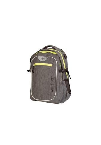 Wheel-Bee Schulrucksack »Backpack Revolution Grau« kaufen