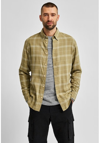 SELECTED HOMME Karohemd »SLIM FLANNEL SHIRT« kaufen