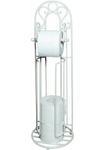 Ambiente Haus Toilettenpapierhalter »Antik«, weiss kaufen