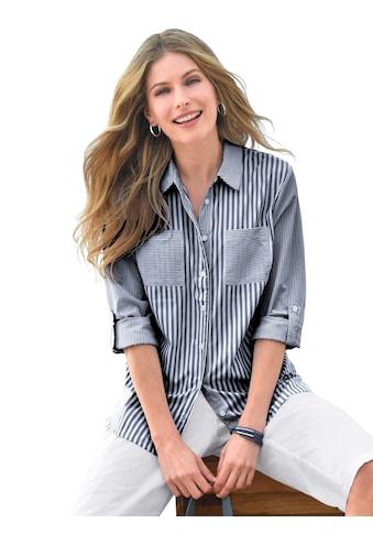 Casual Looks Bluse mit Hemdkragen kaufen