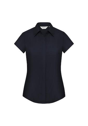 Russell Kurzarmbluse »Collection Easy Care Fitted Poplin Bluse, kurzarm« kaufen