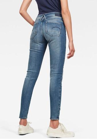 G-Star RAW Skinny-fit-Jeans »Lynn Mid Waist Skinny«, mit Elasthan-Anteil kaufen