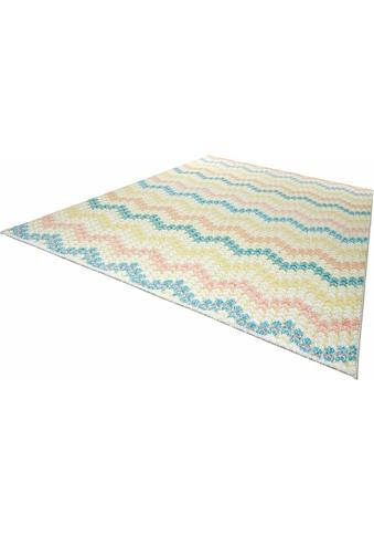 MINT RUGS Teppich »Peak«, rechteckig, 9 mm Höhe, Kurzflor, Wohnzimmer kaufen