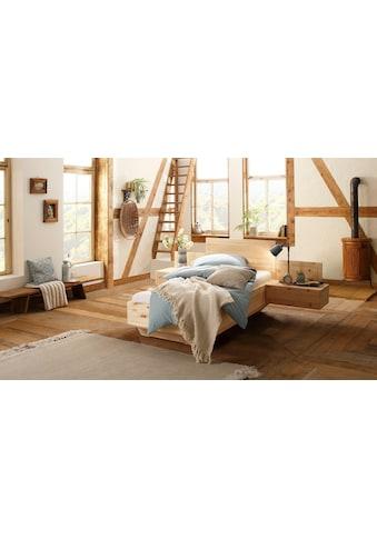 Premium collection by Home affaire Massivholzbett »La Costa«, aus Zirbe, 100% vegan kaufen