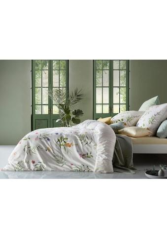 fleuresse Wendebettwäsche »Bed Art S 4188 (2/3tlg.)«, Mako-Satin, florale Streifzüge kaufen