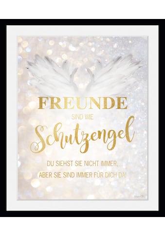 queence Bild »Freunde sind wie Schutzengel«, Sprüche & Texte, (1 St.) kaufen