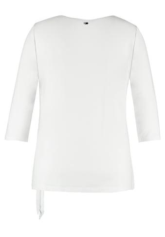 Samoon Rundhalsshirt »Blusenshirt mit Wickel - Optik« kaufen