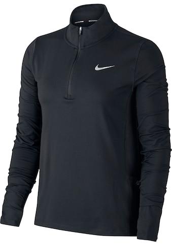Nike Laufshirt »WOMENS 1/2 - ZIP RUNNING TOP PLUS SIZE« kaufen