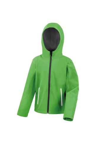 Result Softshelljacke »Core Kinder Unisex Junior Softshell - Jacke mit Kapuze« kaufen