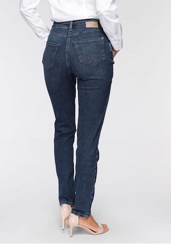 MAC Slim-fit-Jeans »Mel Sylvie Meis«, Gerader schmaler Schnitt von MAC by Sylvie Meis kaufen