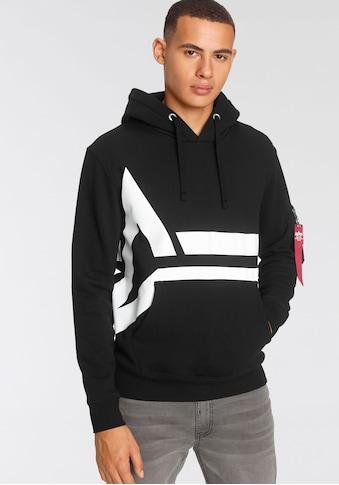 Alpha Industries Kapuzensweatshirt »Alpha Side Logo Hoody« kaufen