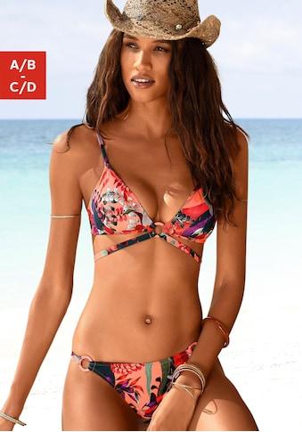 JETTE Triangel-Bikini, mit trendigem Zierbändchen kaufen