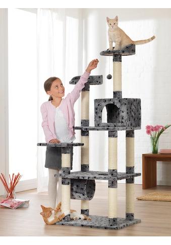 ABUKI Kratzbaum »Pfötchen «, hoch, BxTxH: 60x50x155 cm kaufen