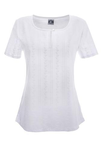 Hammerschmid Trachtenshirt Damen mit Knopfverschluss am Ausschnitt kaufen