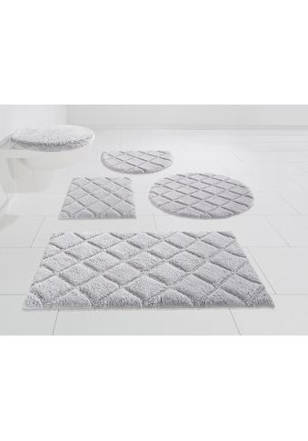 andas Badematte »Coco«, Höhe 14 mm, schnell trocknend, Hoch-Tief-Effekt kaufen