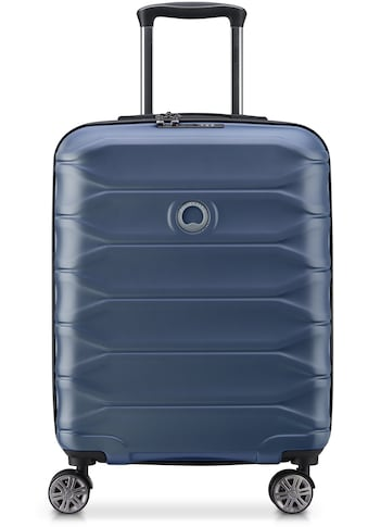 Delsey Hartschalen-Trolley »Meteor, 55 cm, dark blue«, 4 Rollen, slim line kaufen