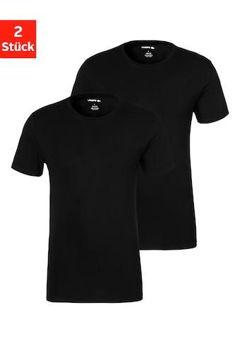 Lacoste T-Shirt, mit schmalem Halsbündchen kaufen