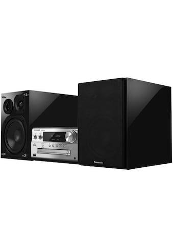 Panasonic »SC - PMX152« Microanlage (Internetradio,Digitalradio (DAB+),FM - Tuner mit RDS, 120 Watt) kaufen