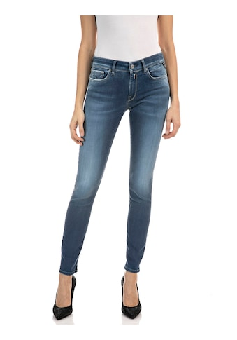 Replay Skinny-fit-Jeans »New Luz«, dezenter Used-Look im 5-Pocket-Style kaufen