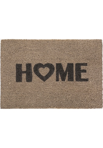 Andiamo Fussmatte »Kokos Home Heart«, rechteckig, 15 mm Höhe, Schmutzfangmatte,... kaufen