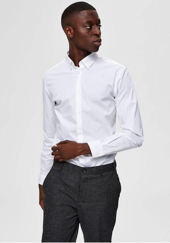 SELECTED HOMME Langarmhemd »SLIM MICHIGAN SHIRT« kaufen