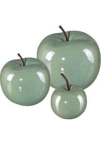 Dekoobjekt »Apfel PEARL EFCT« (Set, 3 Stück) kaufen