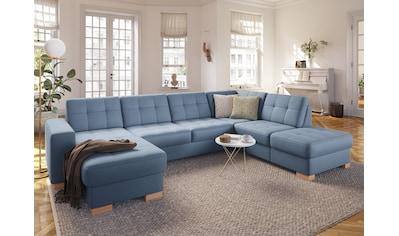 sit&more Wohnlandschaft, wahlweise mit Bettfunktion und Bettkasten kaufen