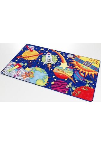Kinderteppich, »Weltall WA - 1«, Böing Carpet, rechteckig, Höhe 2 mm, gedruckt kaufen