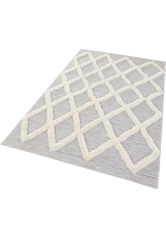 MINT RUGS Teppich »Ayoun«, rechteckig, 35 mm Höhe, In- und Outdoor geeignet,... kaufen