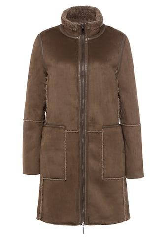 MORE&MORE Fake Lamb Fur Coat Active kaufen