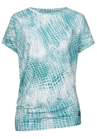 SUPER.NATURAL T - Shirt »W YOGA LOOSE TEE PRINTED« kaufen