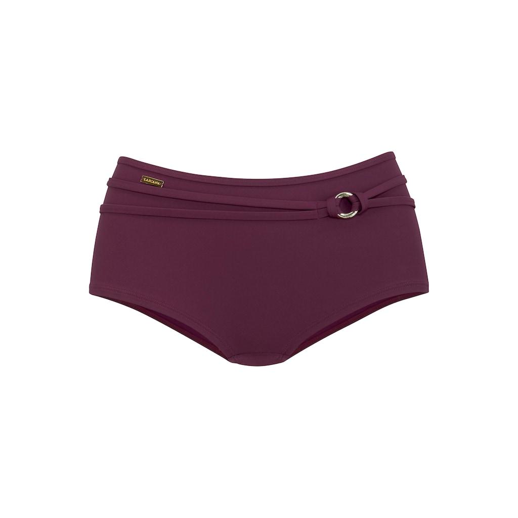 LASCANA Bikini-Hotpants »Italy«, Mit Gürtel