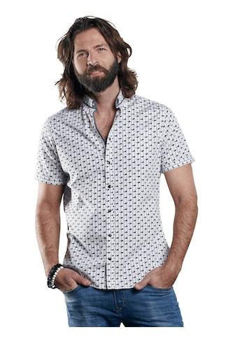 emilio adani Modisch bedrucktes Kurzarmhemd kaufen