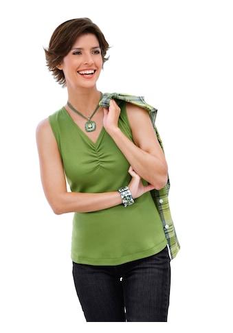 Casual Looks Bluse + Top aus reiner Baumwolle kaufen