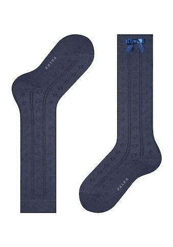 FALKE Kniestrümpfe »Ajour«, (1 Paar), mit Ajour-Muster kaufen