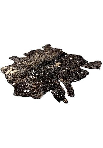 Kayoom Fellteppich »Glam 110«, fellförmig, 8 mm Höhe, echtes Rinderfell, Wohnzimmer kaufen
