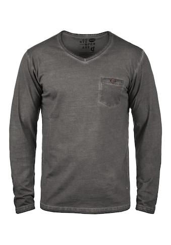 Solid Langarmshirt »Terkel« kaufen