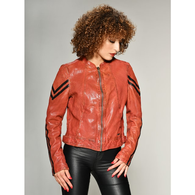 Maze Lederjacke im Bikerlook »Powers«