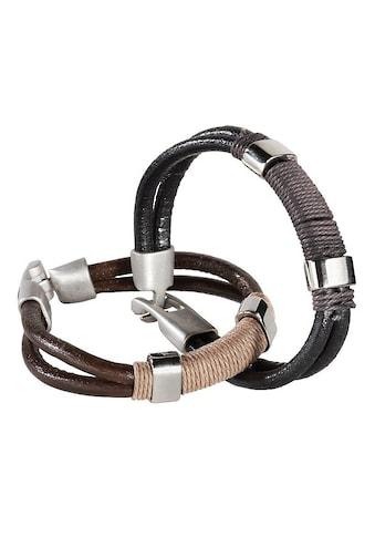 J.Jayz Armband Set »coole Optik«, (Set, 2 tlg.) kaufen