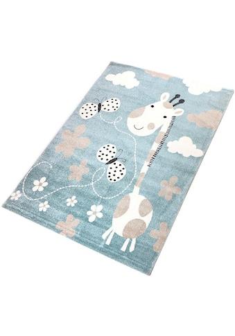 Living Line Kinderteppich »Giraffe«, rechteckig, 12 mm Höhe, Spielteppich kaufen